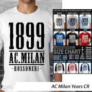 Kaos Bola Lega Calcio AC Milan
