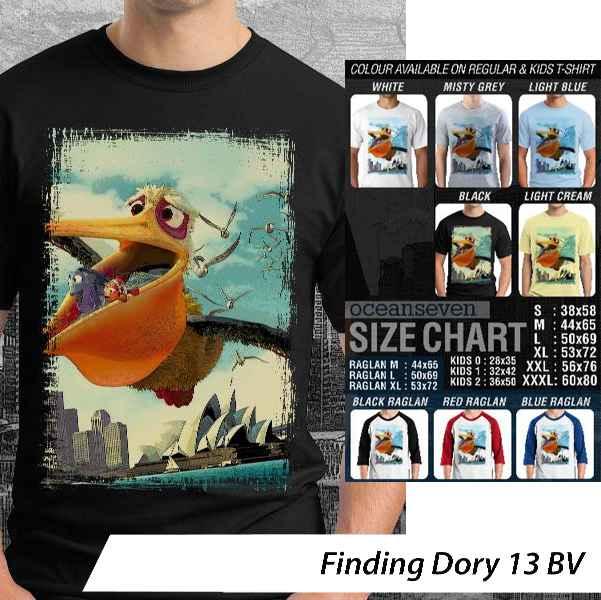 Kaos Anak Finding Dory