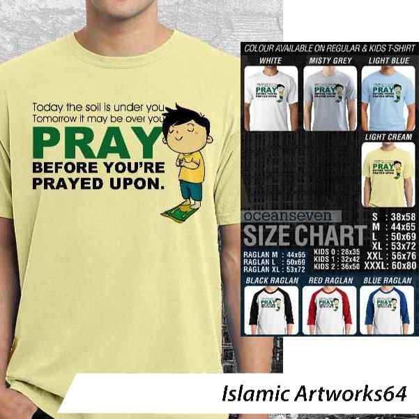 Kaos Muslim Islamic Artworks