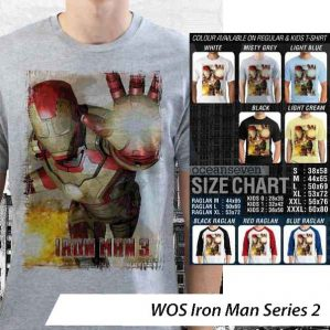 Kaos Iron Man World of Superhero – Iron Man Series