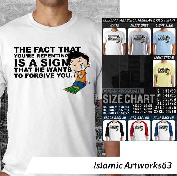 Kaos Muslim Islamic Artworks