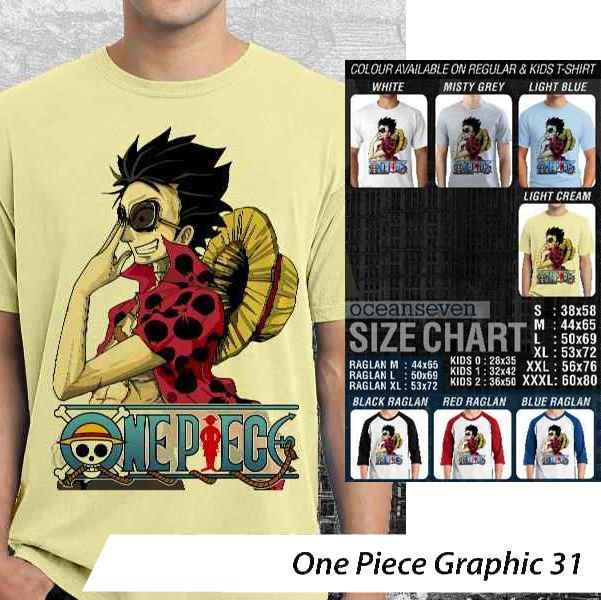 Kaos One Piece