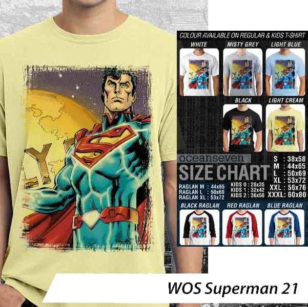 Kaos Superman World of Superhero – Superman Series